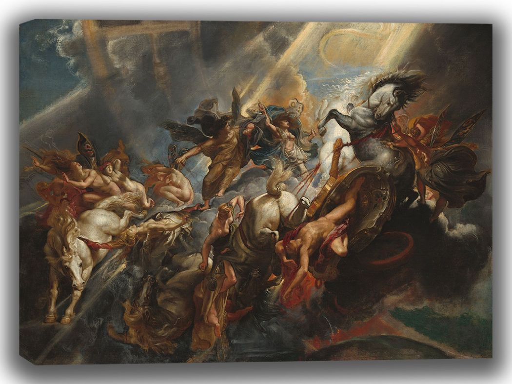 Rubens, Peter Paul: The Fall of Phaeton. Fine Art Canvas. Sizes: A4/A3/A2/A1 (003919)